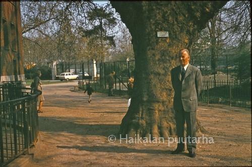Eino Haikalan mieluisin matkakohde oli Ranska ja hän opiskeli vielä 70-vuotiaan italian kielenkin.