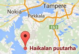 Tampere, Pirkkala, Lempäälä kartta